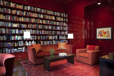 Modern Vibrant Rooms Reading Ideas 23