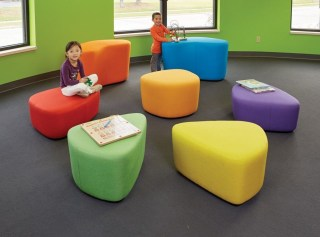 Modern Vibrant Rooms Reading Ideas 33