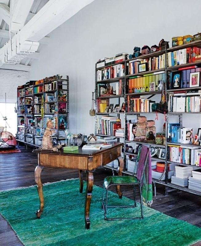 Modern Vibrant Rooms Reading Ideas 44
