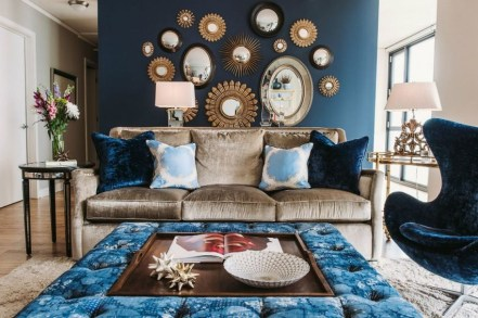 Popular Velvet Sofa Designs Ideas For Living Room 03