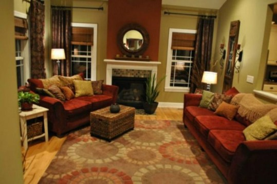 Popular Velvet Sofa Designs Ideas For Living Room 16