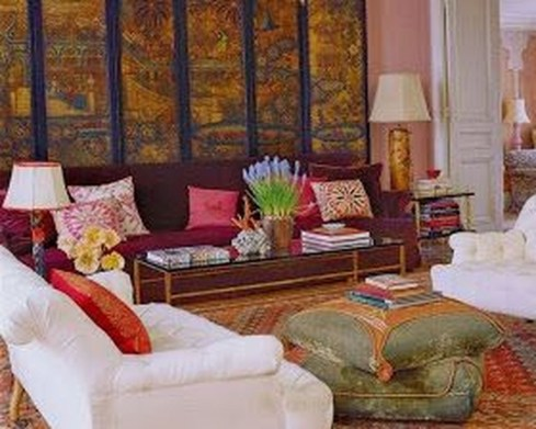 Popular Velvet Sofa Designs Ideas For Living Room 19
