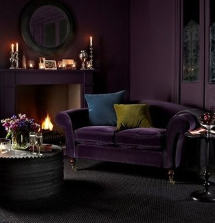 Popular Velvet Sofa Designs Ideas For Living Room 47