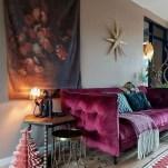 Popular Velvet Sofa Designs Ideas For Living Room 50