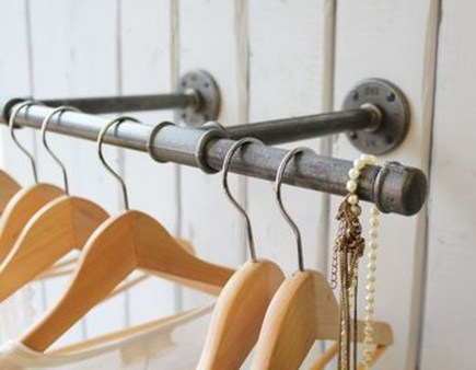 Stunning Clothes Rail Designs Ideas 11