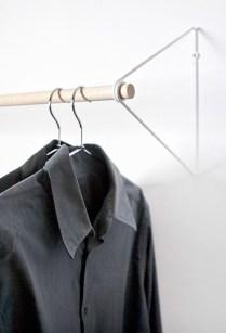 Stunning Clothes Rail Designs Ideas 18