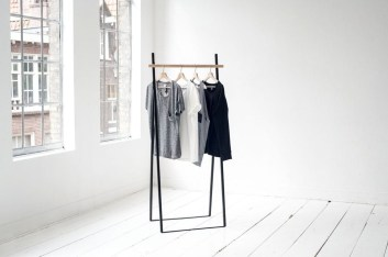 Stunning Clothes Rail Designs Ideas 27