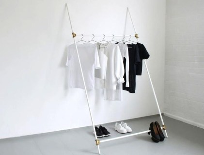 Stunning Clothes Rail Designs Ideas 30