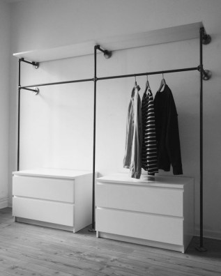 Stunning Clothes Rail Designs Ideas 38