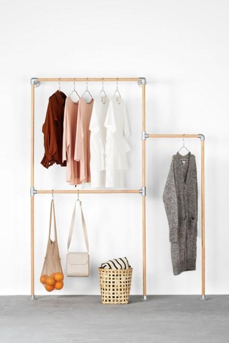 Stunning Clothes Rail Designs Ideas 49