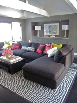 Catchy Living Room Designs Ideas With Bold Black Furniture 10
