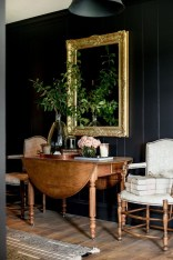 Catchy Living Room Designs Ideas With Bold Black Furniture 15