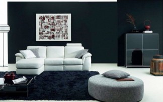Catchy Living Room Designs Ideas With Bold Black Furniture 24