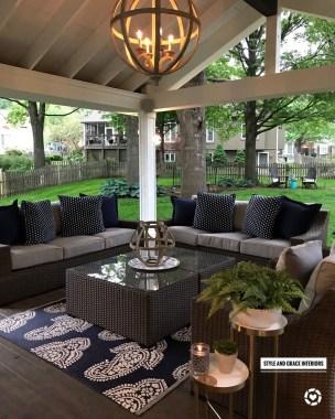 Comfy Porch Design Ideas For Backyard 38