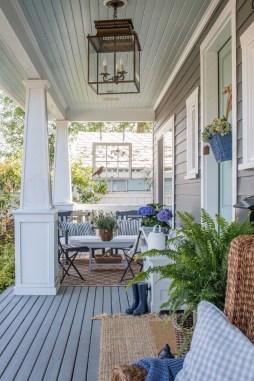 Comfy Porch Design Ideas For Backyard 40