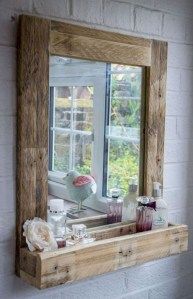 Cozy Small Bathroom Ideas With Wooden Decor 11