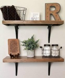 Cozy Small Bathroom Ideas With Wooden Decor 14