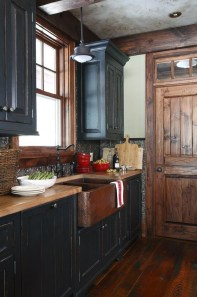 Creative Painted Kitchen Cabinets Design Ideas 12