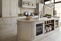 Creative Painted Kitchen Cabinets Design Ideas 27