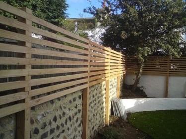 Cute Garden Fences Walls Ideas 05