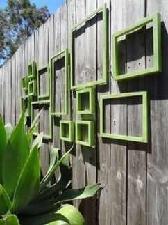 Cute Garden Fences Walls Ideas 21