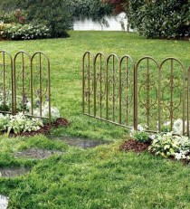 Cute Garden Fences Walls Ideas 31