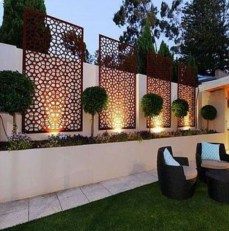 Cute Garden Fences Walls Ideas 32