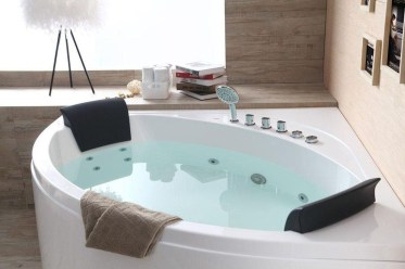 Elegant Bathtub Design Ideas 24