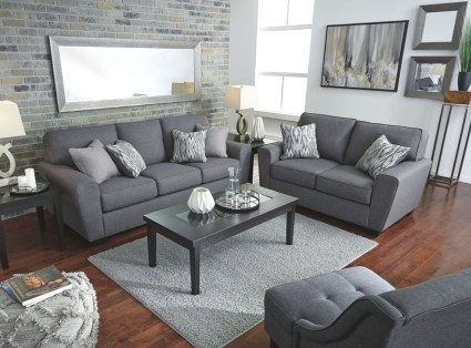 Enchanting Living Rooms Ideas With Combinations Of Grey Green 23