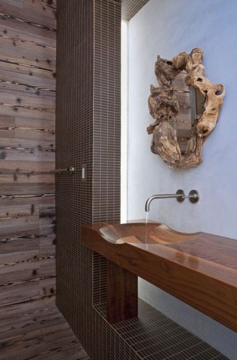 Fabulous Home Design Ideas With Wooden Accent 23