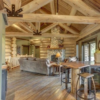 Fabulous Home Design Ideas With Wooden Accent 35
