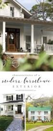 Fabulous White Farmhouse Design Ideas 23
