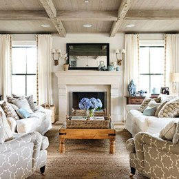 Fancy Living Room Decor Ideas With Ginger Jar Lamps 39