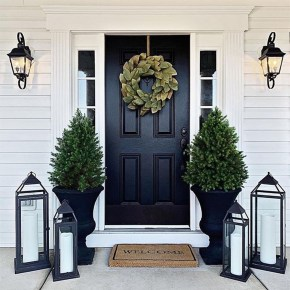 Fascinating Farmhouse Porch Decor Ideas 02