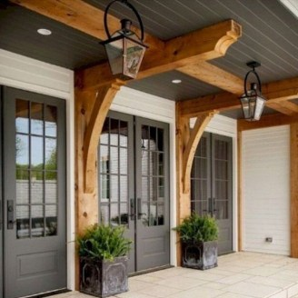 Fascinating Farmhouse Porch Decor Ideas 23