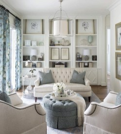 Impressive French Style Living Room Designs Ideas 23
