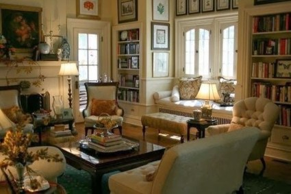 Impressive French Style Living Room Designs Ideas 26