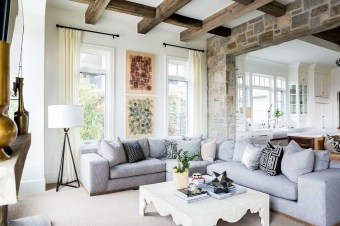 Impressive French Style Living Room Designs Ideas 44