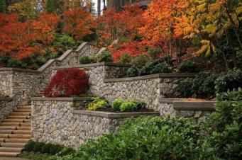 Incredible Autumn Decorating Ideas For Backyard 44