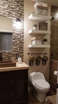 Popular Farmhouse Small Bathroom Decorating Ideas 06