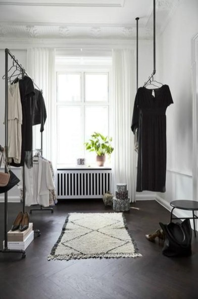 Stunning Clothes Rail Designs Ideas 13