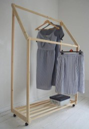 Stunning Clothes Rail Designs Ideas 18
