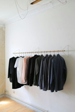 Stunning Clothes Rail Designs Ideas 24