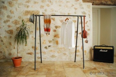 Stunning Clothes Rail Designs Ideas 38