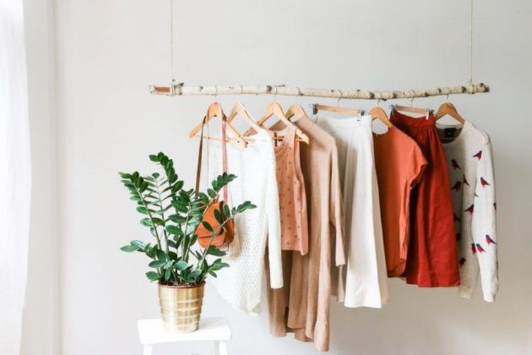 Stunning Clothes Rail Designs Ideas 43