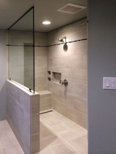Awesome Bathroom Shower Ideas For Tiny House 10