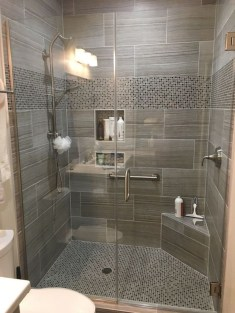 Awesome Bathroom Shower Ideas For Tiny House 11