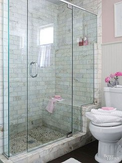 Awesome Bathroom Shower Ideas For Tiny House 23