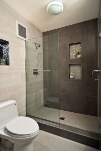 Awesome Bathroom Shower Ideas For Tiny House 28