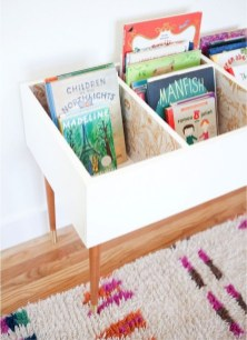 Cozy Bookcase Ideas For Kids Room 05